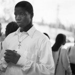 Parishioner at Notre Dame D'Haiti Catholic Church