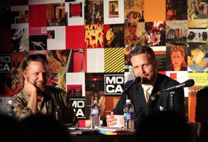 Magnus Sigurdarson and Ragnar Kjartansson