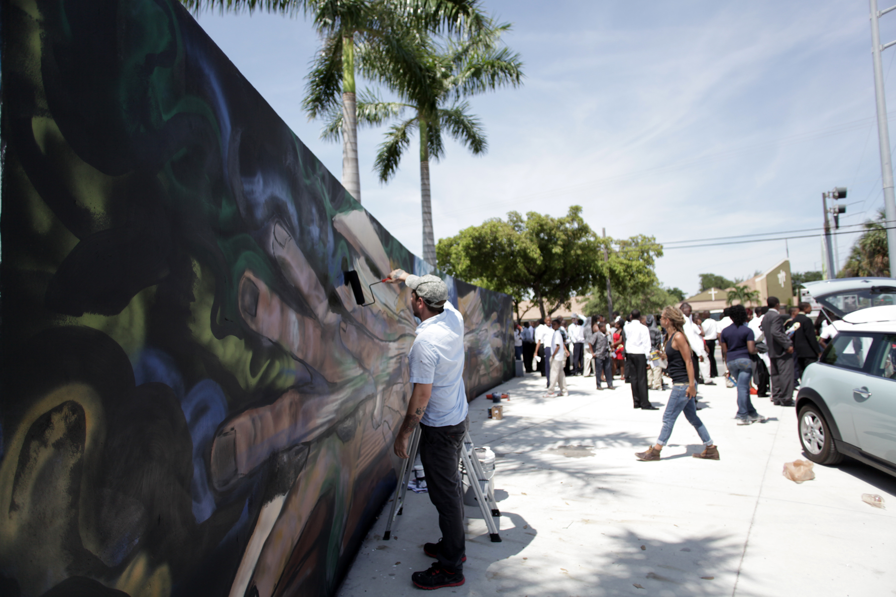 North Miami Senior High Mural Dedication