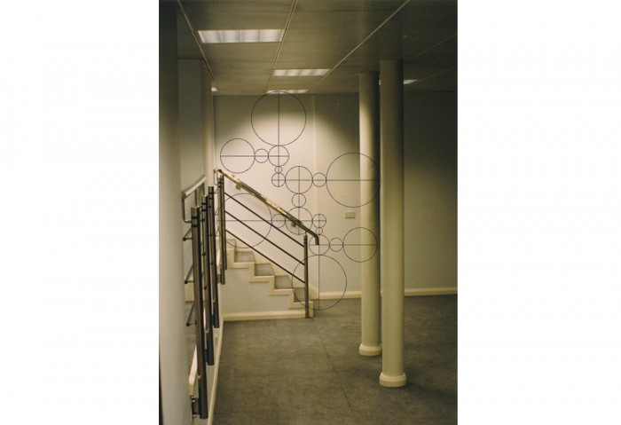 Gabriel Orozco<br>Empty Club Sketch, 1996<br> Gift of Janet and Robert Liebowitz