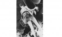 Zoe Leonard Rear View (Geoffrey Beene Fashion Show), 1990 black and white photograph 38 1/4 x 26 3/4 inches Edition 4/6 Gift of Barbara Herzberg