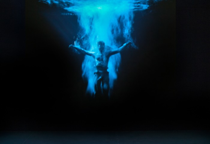 Installation view Bill Viola: Liber Insularum. Photo by Steven Brooke.