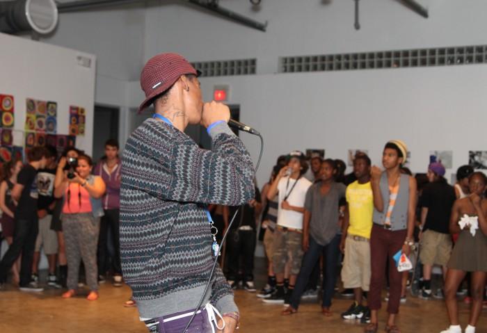MOCA Teen Art Force Open Mic Night