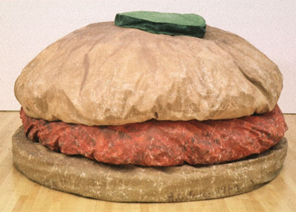 Claus Oldenberg, Burger, 1962
