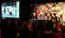 Matthew Ritchie, Shinique Smith, Enoc Perez and Bonnie Clearwater
