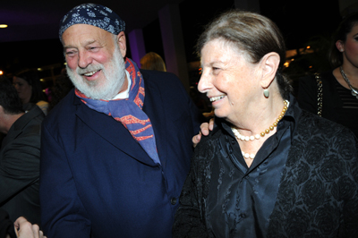 Bruce Weber Nan Bush at MOCA's Vanity Fair / Vanity Fair International Party