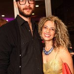 Dan Milewski, Nina Johnson-Milewski at MOCA's Vanity Fair / Vanity Fair International Party
