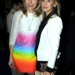 Michaela de Pury and Dee Hilfiger at the dinner honoring artist Bill Viola.