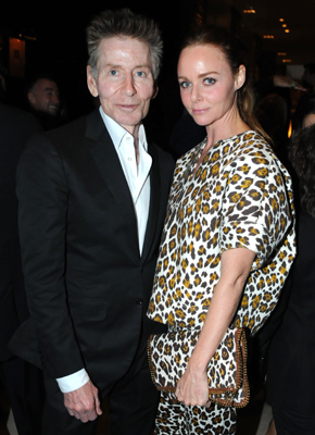Calvin Klein and Stella McCartney at the dinner honoring artist Bill Viola.