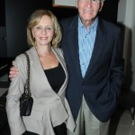 Irma and Norman Braman at the dinner honoring artist Bill Viola.