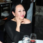 Eva Chow at the dinner honoring artist Bill Viola.