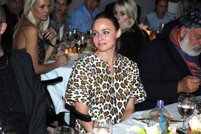 Stella McCartney at the dinner honoring artist Bill Viola.