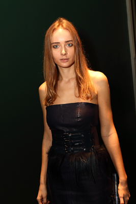 Olga Sorokina at MOCA's Vanity Fair / Vanity Fair International Party