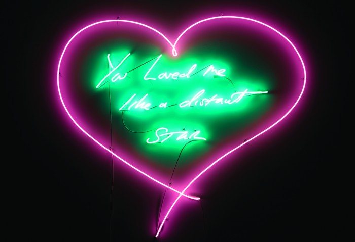 Tracey Emin, You Loved me like a Distant Star, 2012.(c) the artist.