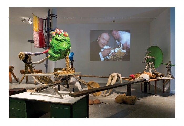 <i>Zero Hero</i>, 2003<br>Mixed media, dimension variable<br>Collection of the Museum of Contemporary Art, North Miami and the American Fund for the Tate Gallery, Gift of Carlos and Rosa de la Cruz
