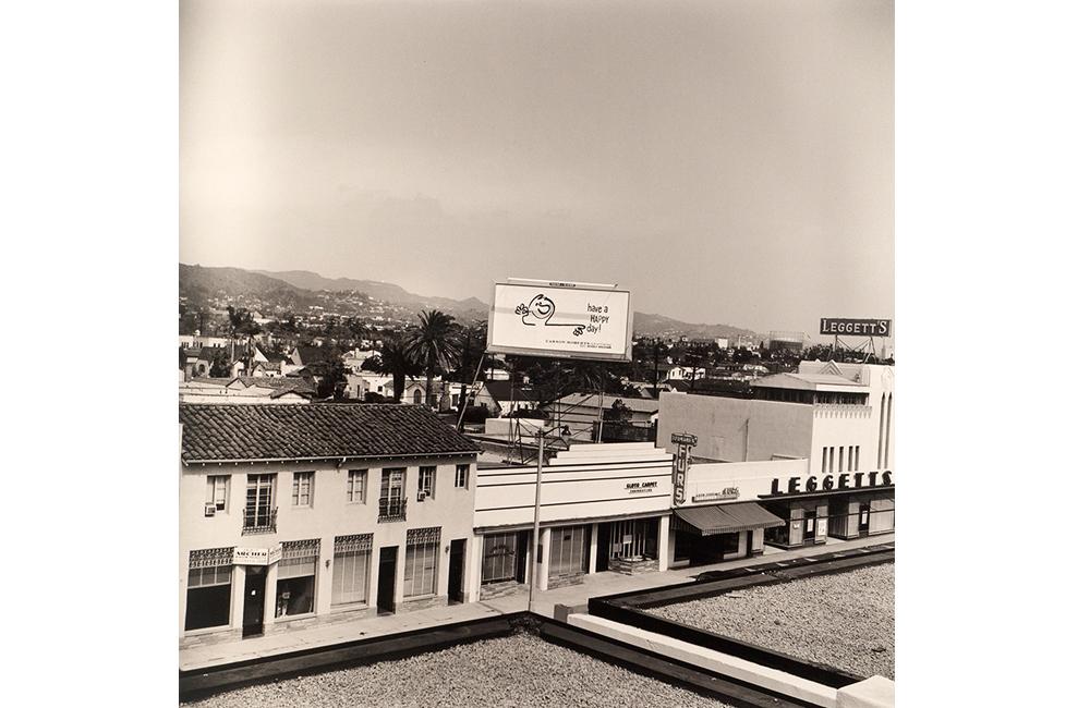 Ed Ruscha, Rooftops,1961/2004