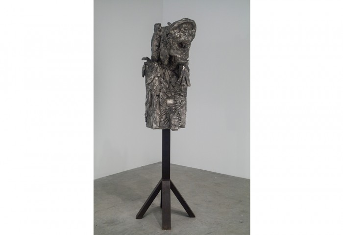 13.	BABYADMIRAL NULLPE, SEESCHLACHT NO PROBLEM (Gefecht bei Jonathan Meese, 2007, Bronze Sculpture, 41 ¾ x 17 ¾ x 20 ½ inches , 3/3 + 1 AP, 	Collection of the Museum of Contemporary Art, North Miami