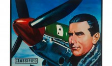 Italian Fighter Pilot (Ace), Malcolm Morley, 2010,  Oil on Linen , 45 ½ x 58 inches, Collection of the Museum of Contemporary Art, North Miami, Gift of the Artist