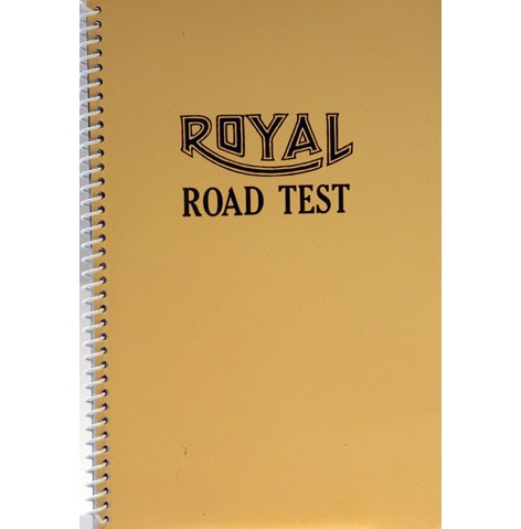 <i>Royal Road Test</i>, 1967<br>Artist book, 7 x 5 5/8 inches (24.45 x 13.97 cm)<br>Gift of Skip Van Cel