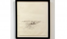 Rick Ulysse, Untitled,  From The Resurrection of Toussaint Series, 2012, Graphite on paper, 14 x 17 inches, Collection of the Museum of Contemporary Art, North Miami, Museum Purchase with funds from the Robert and Janet Liebowitz Endowment Fund of the Jewish Communal 	Fund