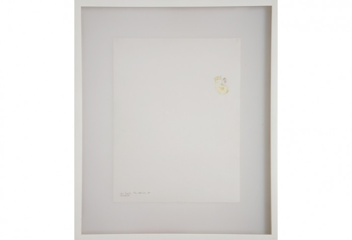 <i>Fast Set (En Soph, The Child)</i>, 2000<br>Ink on paper, 16 x 13 1/2 inches (40.64 x 34.29 cm)<br>Purchased with funds provided by the Gucci Young Artist Fund