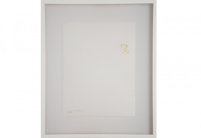 Matthew Ritchie,  <i>Fast Set (En Soph, The Child)</i>, 2000,  Ink on Paper, 16 x 13 ½ inches, Collection of the Museum of Contemporary Art, North Miami, Museum purchase with funds from the Gucci Young Artist Fund