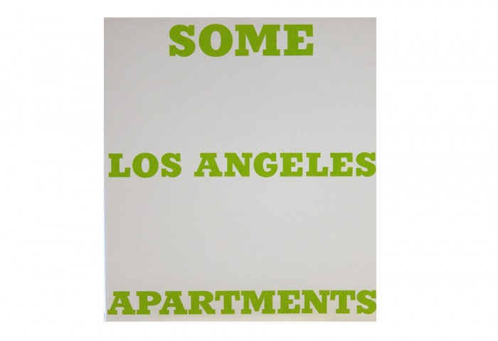 <i>Some L.A. Apartments</i>, 1965<br>Artist book, 7 x 5 5/8 inches (17.78 x 14.29 cm)<br>Gift of Skip Van Cel