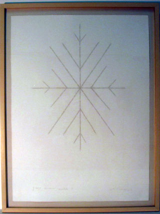 <i>Great American Mandala I</i>, 1995<br>Graphite and pastel on paper, 19 1/2 x 25 inches (49.53 x 63.5 cm)<br>Gift of Valerie and Fernando Gutierrez