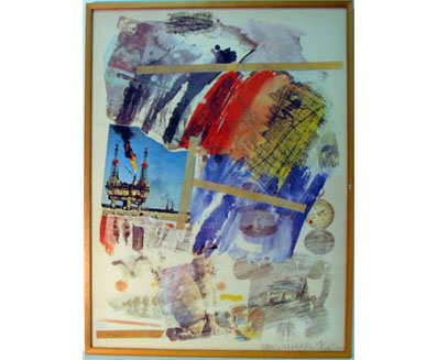 <i>Untitled</i>, 1973<br>Silkscreen on Arches paper, 39 3/4 x 29 1/2 inches (100.97 x 74.93 cm)<br>Gift of Ruth and Richard Shack