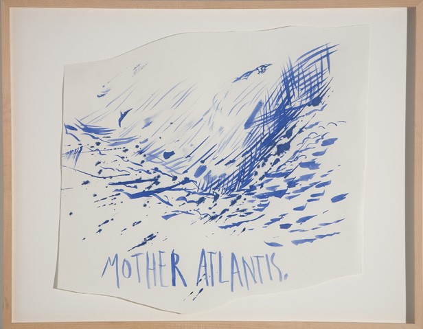 <i>Untitled (Mother Atlantis)</i>, 2003<br>Ink on paper, 24 x 19 inches (60.96 x 48.26 cm)<br>Gift of the Artist
