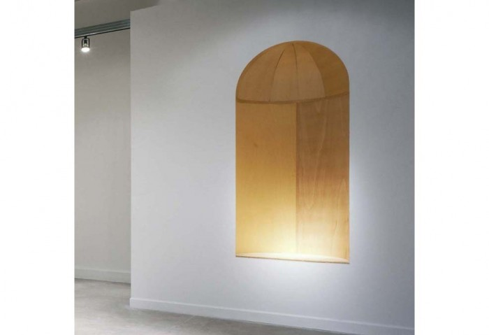 <i>Niche</i>, 2006<br>Wood, 102 x 36 x 36 inches (259.08 x 91.44 x 91.44 cm)<br>Purchased with funds provided by Rosa and Carlos de la Cruz