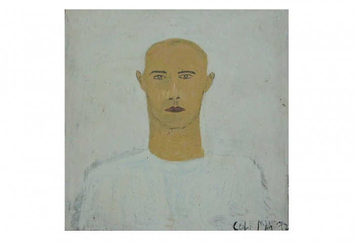 <i>Untitled</i>, 1992<br>Mixed media on masonite, 48 x 49 inches (121.92 x 124.46 cm)<br>Gift of the Cole Family
