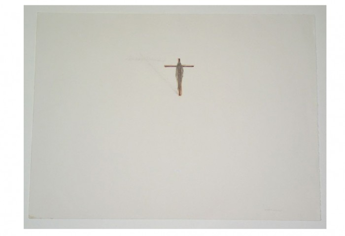 <i>Untitled</i>, 2002<br>Mixed media on paper, 29 3/4 x 42 inches (75.57 x 106.68 cm)<br>Gift of Liza and Dr. Arturo F. Mosquera
