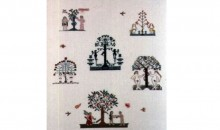 Sampler (Adam and Eve), 2002Textile, 32 1/2 x 28 5/8 inches (82.55 x 72.71 cm)Purchased with funds provided by the Braman Family Foundation