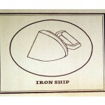 Iron Ship, 1972Card, 5 5/16 x 6 5/16 inches (13.5 x 16 cm)Gift of Marvin and Ruth Sackner