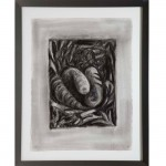 Drawing for Denial III, 1985Charcoal on paper, 30 x 22 1/4 inches (76.2 x 56.52 cm)Gift of Joan and Roger Sonnabend