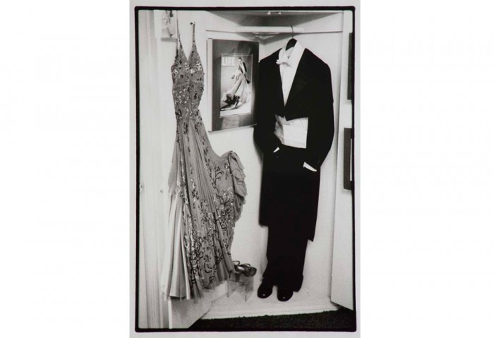 <i>Dress & Suit (For Nancy)</i>, 1990-1995<br>Gelatin silver print on paper, 28 x 19 1/2 inches (71.12 x 49.53 cm)<br>Gift of the Artist and Paula Cooper Gallery, New York