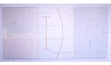 Not I, 1982-1983Mixed media, 72 x 144 inches (182.88 x 365.76 cm)Gift of Leonard and Gloria Luria