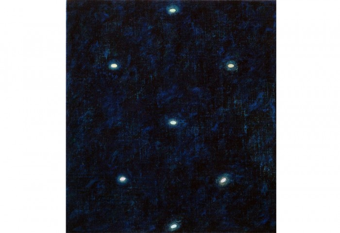 <i>Morpheus No.  2</i>, 1985-1986<br>Oil on linen,	11 x 10 inches (27.94 x 25.4 cm)<br>Gift of Lannan Foundation