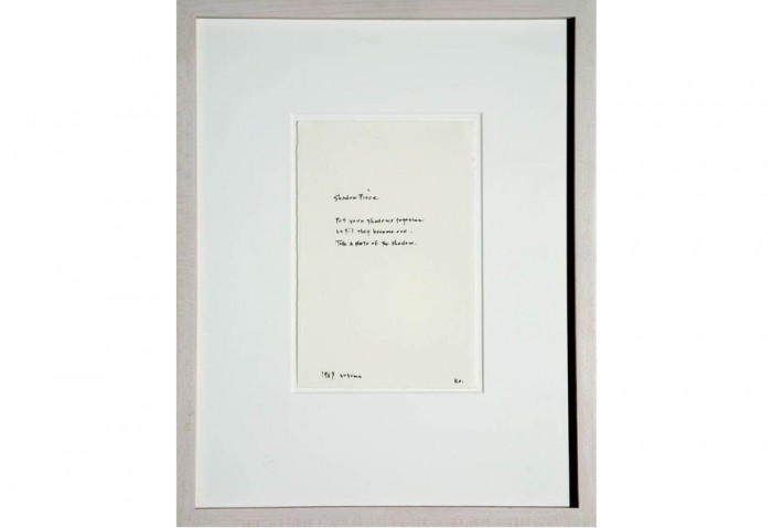 <i>Instructions for Photographs</i>, 1961-1971<br>Work on paper, 13 1/4 x 10 1/2 inches (33.66 x 26.67 cm)<br>Promised gift of Jeanne and Michael Klein
