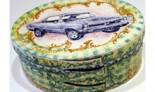Hot Rod Shaker Box (64 GTO), 1994Hand-painted ceramic box, 4 x 10 x 8 inches (10.16 x 25.4 x 20.32 cm)Gift of Peter Norton