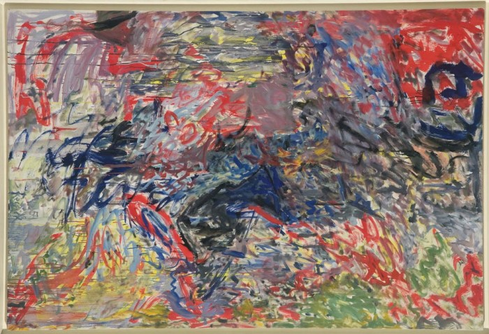 <i>My Birthplace is O</i>, 1959<br>Oil on linen, 53 x 78 inches (134.62 x 198.12 cm)<br>Gift of Betsy Wittenborn Miller and Robert Miller