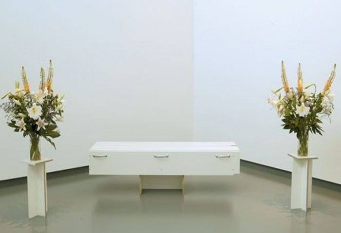 <i>Last Call Do-It Yourself (Annlee)</i>, 2002<br>Particle board, metal, glass, and paper<br>Gift of Carlos and Rosa de la Cruz for the Collection of the Museum of Contemporary Art, North Miami and the American Fund for the Tate Gallery