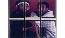 Shomari and Willie, 1996Internal dye diffusion transfer prints, 60 x 69 inches (152.4 x 175.26 cm)Gift of Francie Bishop Good and David  Horvitz