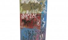 Untitled, N.D.Mixed media on masonite and plywood, 41 1/2 x 24 inches (105.41 x 60.96 cm)Gift of Katzman Family Collection