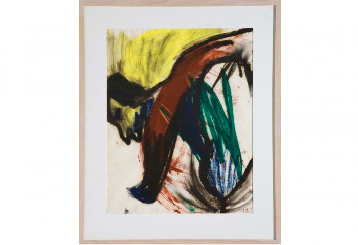 <i>Untitled</i>, 1982<br>Gouache on paper, 27 x 19 inches (68.58 x 48.26 cm)<br>Gift of Joan and Roger Sonnabend