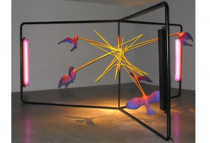 <i>Standing Still While Moving Across Land</i>, 2004<br>Mixed media, 84 x 216 x 216 inches (213.36 x 548.64 x 548.64 cm)<br>Gift of Mario Cader-Frech and Robert S. Wennett