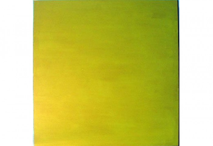 <i>Seduction of the Complete</i>, 1987<br>Oil on canvas, 35 x 35 inches<br>Gift of James S. & Marisal G. Higgins