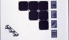Entelequia, 1992Black and white photograph, felt, and ironGift of Rosa and Carlos de la Cruz