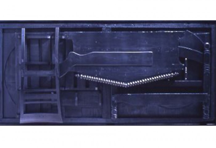 <i>Untitled</i>, 1976-1978<br>Wood on wood, 89 1/2 x 39 3/4 x 7 inches (227.33 x 100.97 x 17.78 cm)<br>Gift of Pace Wildenstein, New York in honor of Irma Braman